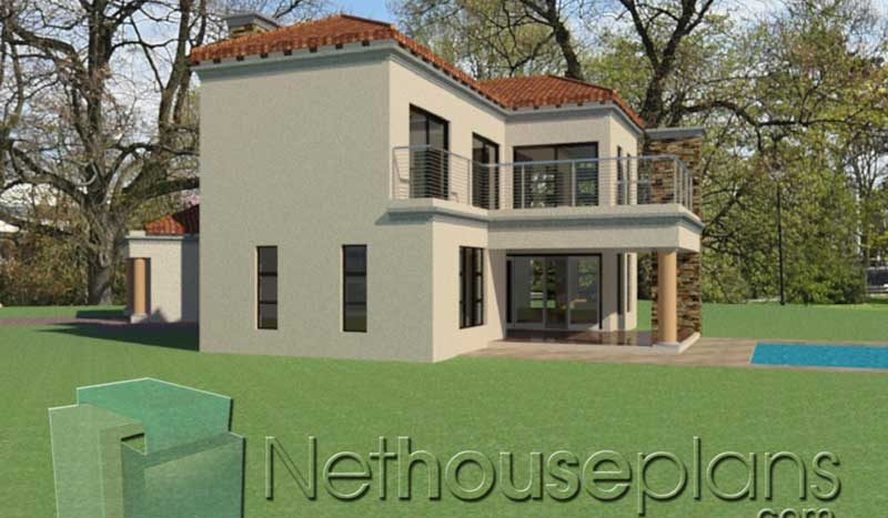 Modern tuscan style house plan, 3 bedroom , double storey floor plans, house plans, Net house plans south africa, double storey house plans, modern tuscan home, house plans south africa, home designs, house designs, house plans in johannesburg, architectural designs, Nethouseplans architects, architectural designs, south african home designs