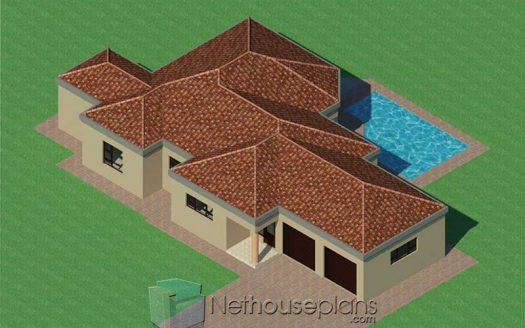 3 bedroom house plans with garages modern 3 bedroom house plans with double garages small 3 bedroom house plans pdf simple 3 bedroom house floor plans unique 3 bedroom house floor plans with garages modern 3 bedroom house floor plans with 3D models 3 bedroom modern house floor plans with photos 3 bedroom house designs South Africa Open Floor Plan House plans Nethouseplans