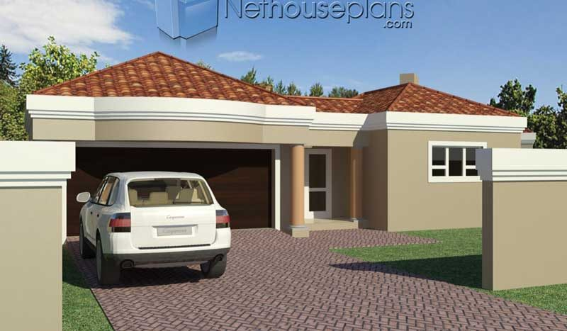Simple 3 bedroom house plans with garage South Africa 3 Bedroom house plans pdf downloads small 3 bedroom house plans with garage free 3 bedroom house plans 3 bedroom house plans for sale South Africa House plans in Limpopo Nethouseplans