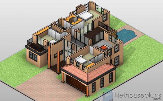 3D house plans 3D house floor plans 3D house designs 3 bedroom double storey 3D house plans with photos 3D home images 3D renders 3D house model 3D house floor plan designs 3D designs 3 bedroom 2 bathroom house plans south africa Nethouseplans