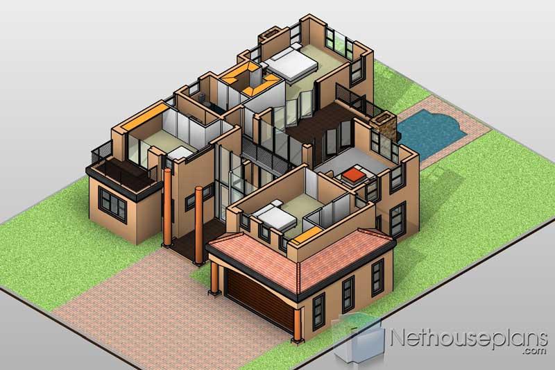 3d House Plans 3d Floor Plans 3d House Designs Nethouseplansnethouseplans