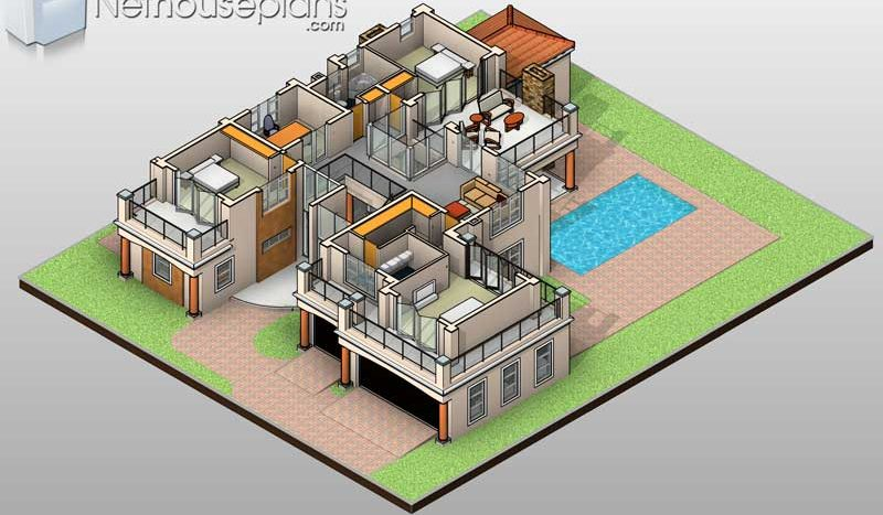 Simple 4 bedroom house plans 4 bedroom double storey house plans South Africa 4 bedroom house plans in Limpopo 4 Bedroom modern house plans pdf downloads double storey house plans for sale in Pretoria 4 Bedroom double storey house plans with garages 4 bedroom house plans with photos Nethouseplans