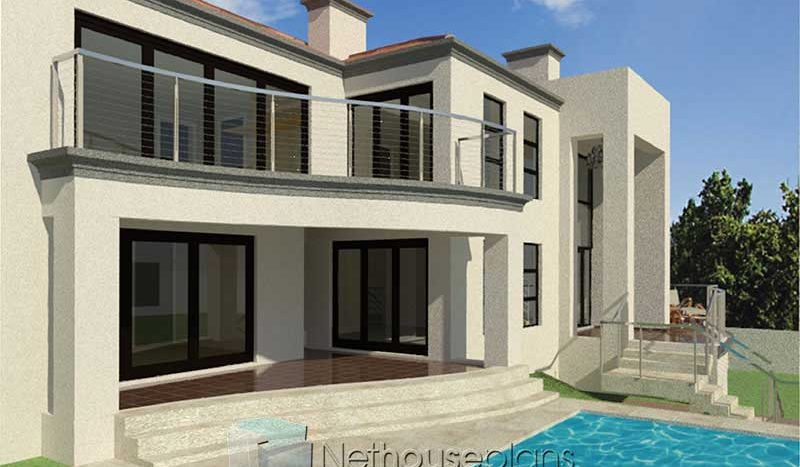 beautiful 4 bedroom house plans modern house plans with basement contemporary house designs with pictures South Africa 4 bedroom house plans with double garages Nethouseplans