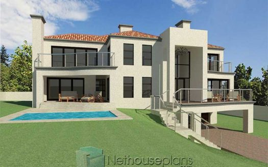 4 bedroom home designs simple house designs south africa modern house designs double storey modern house designs with images 4 bedroom modern house designs in South Africa modern contemporary house plan designs with three storeys Nethouseplans