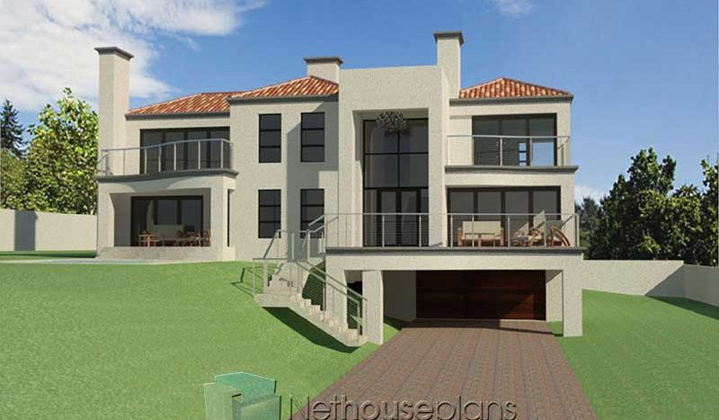 simple house designs modern style architecture architects in South Africa 4 bedroom house plans for sale in SA house plans with photos Nethouseplans