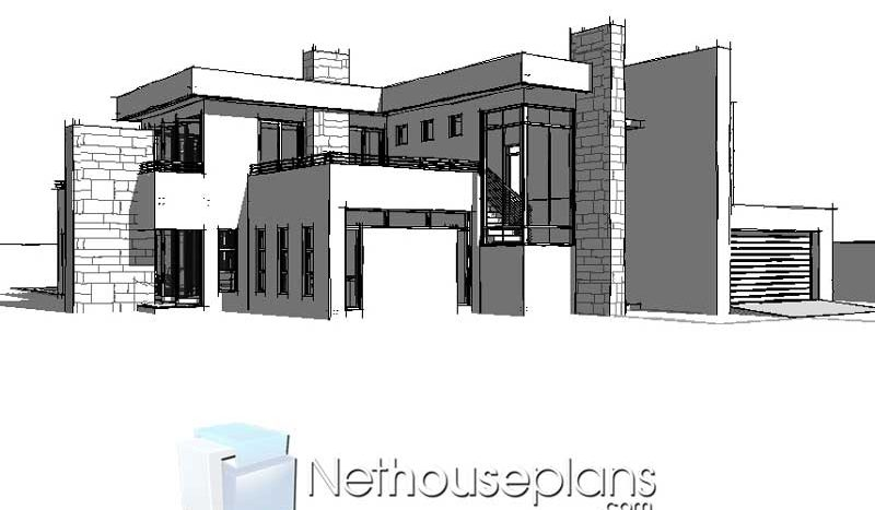 3D Modern House Plans South Africa Modern 4 bedroom house plans South Africa 4 bedroom modern house plans with photos moder double storey house plans double storey modern house plans for sale modern 4 bedroom double storey house plans South AFrica modern double storey house plans pdf downloads Nethouseplans