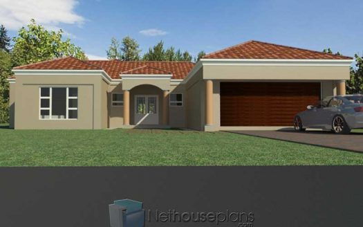 Modern tuscan style house plan, 4 bedroom single storey house, floor plans, 4 bedroom house plans pdf 4 bedroom house plans South Africa, 4 bedroom modern house plans South Africa, 4 bedroom Tuscan house design, house plan design, Nethouseplans
