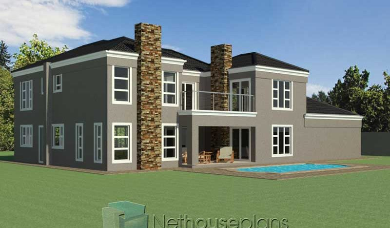 4 bedroom double storey house plan, Modern tuscan style house plan, 4 bedroom house plans south africa 4 bedroom house plans for sale in South Africa double storey house plans pdf downloads house plan designs Tuscan style house design floorplanner building plan designs Nethouseplans