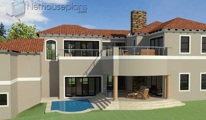 4 Bedroom house plan with mezzanine level Tuscan house plans in South Africa house plans pdf downloads House plans for sale online house plan designs house building plans with photos Nethouseplans