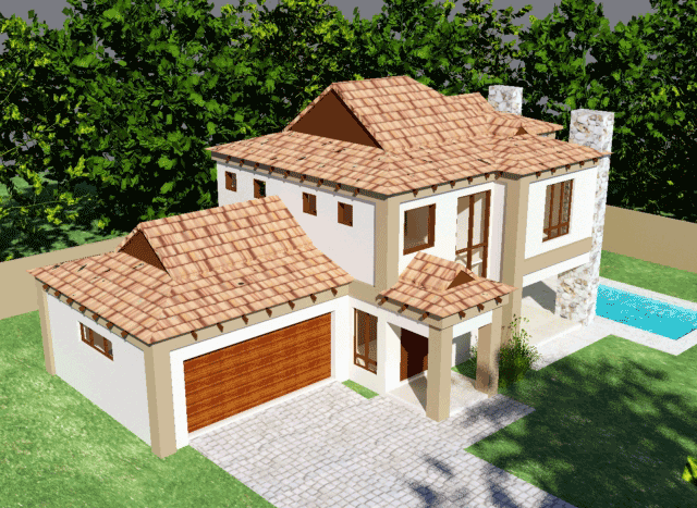 House plans south africa building plans architectural design home designs floorplanner farmhouse design nethouseplans architects floor plans Bali house plan 3D view by Net house plans south africa
