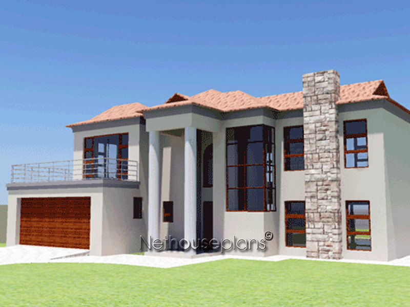 3 Bedroom House Plan | South African House Designs ...