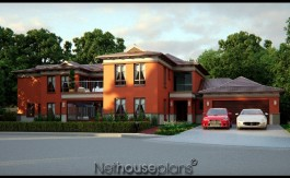 House plans south africa 5 Bedroom two story home, Net house plans south africa, Bali style house plan, double story floor plans