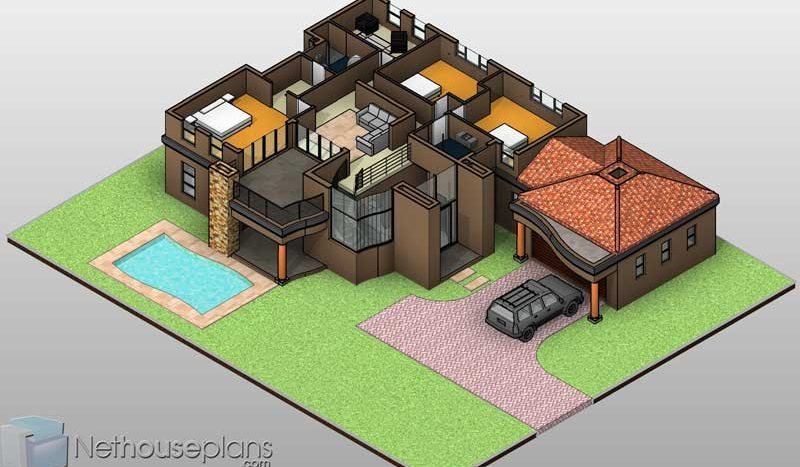 4 bedroom house plan, double storey House plans south africa, Nethouseplans, South AFrican modern house plans, Beautiful 4 Bedroom house plan with double garages, 389 sq meter unique house plans; home designs; house designs house floor plans; South African double story 4 bedroom house plans, Tuscan house plans with photos, Nethouseplans house floor plans; two storey house plan; modern 4 bedroom house plan; 2 story house design, house design with double garage double story house plan; contemporary home design