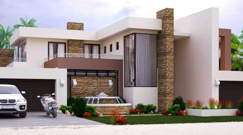 4 bedroom modern house plans pdf downloads modern contemporary house plans with photos modern contemporary house plan designs 4 bedroom modern house designs South Africa modern 4 bedroom 2 story house plans Nethouseplans