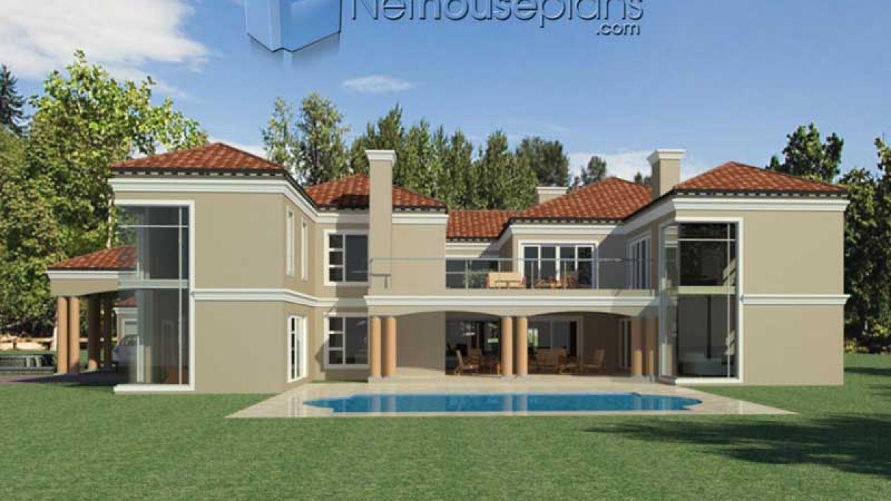 Modern 5 Bedroom House Plans And Home Designs Nethouseplansnethouseplans