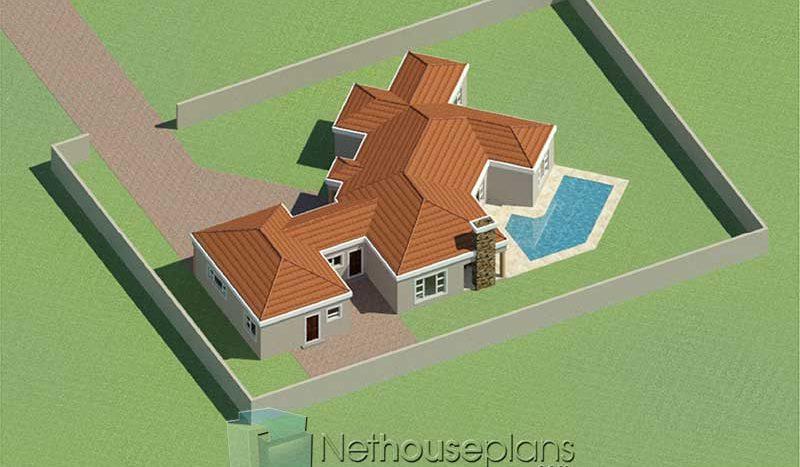 Simple house designs 3 bedroom single storey house plan designs with photos simple house design Tuscan house design South Africa modern house designs Nethouseplans