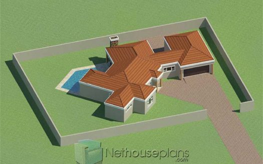 Simple house designs 3 bedroom single storey house plan designs with photos simple house design small house plans simple 3 bedroom house plans Tuscan house design South Africa modern house designs Nethouseplans
