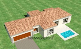 house plans south africa 3 bedroom house plans 3d house plans double story House and home private property architects best house designs 3d house plans modern architecture architektura home design ideas Modern tuscan style house plan, 3 bedroom , single storey