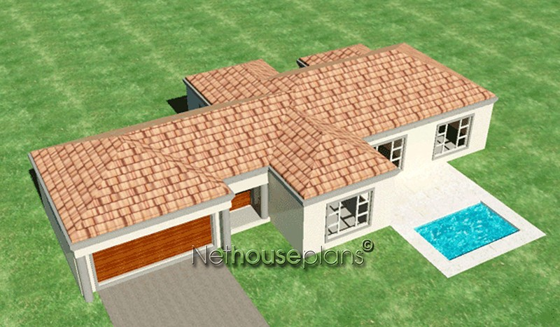 3 bedroom house plans in South Africa, house plans south africa 3 bedroom house plans 3d house plans double story House and home private property architects best house designs 3d house plans modern architecture architektura home design ideas Modern tuscan style house plan, 3 bedroom , single storey, home designs, house design plans,Nethouseplans