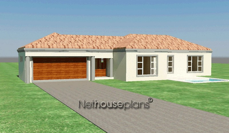 House and home private property architects best house designs 3d house plans modern architecture architektura home design ideas famous architects 3 bedroom house plans floor plan designer room design propertypal bedroom design Modern tuscan style house plan, 3 bedroom , single storey floor plans