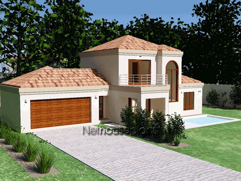 3 Bedroom Home Design South Africa | Double Storey House ...