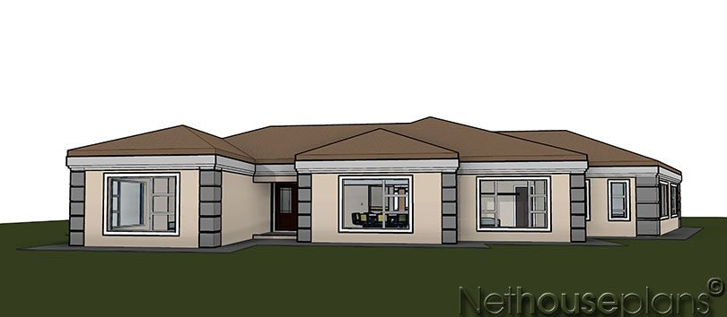 Modern tuscan style house plan, 4 bedroom , single storey floor plans, house plans, 5 bedroom home, single storey house plan, Net house plans, Net house plans south africa, modern tuscan home, house plans south africa, home designs, house designs, house plans in johannesburg, architectural designs, Nethouseplans architects, architectural designs, south african home designs