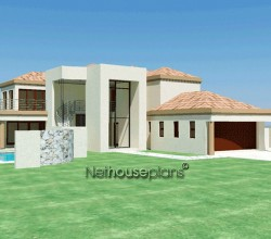 Double Storey Tuscan House Plan | South African Designs ...