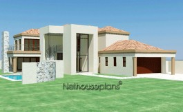 House plans south africa building plans blue valley golf estate 4 bedroom house plans houses with 5 garages build your own house design your own house waterfall estate Nethouseplans 3D house plans double story house plans Double Storey Tuscan House Plan, Tuscan architectural design by Nethouseplans.com