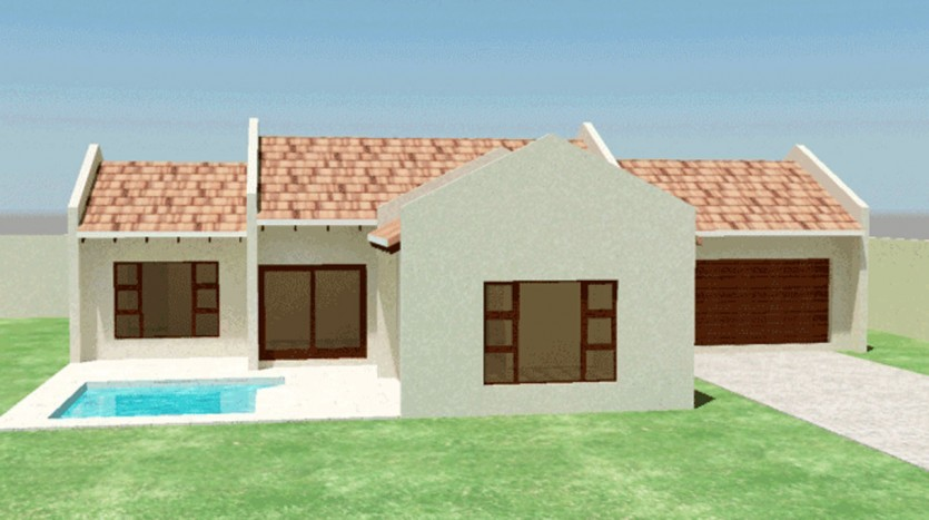 house plans south africa building plans floorplanner countyry house plans with photos free house plans simple house plans architectural designs Traditional style house plan, 3 bedroom, single storey floor plans nethouseplans.com
