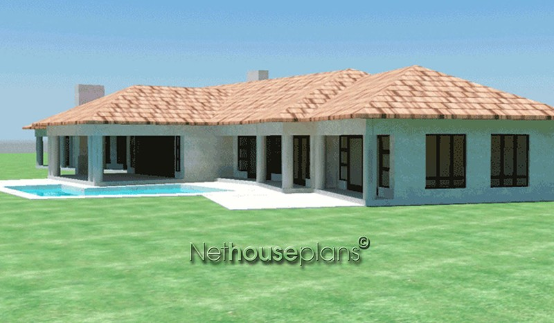 house plans south africa building plans Traditional style, 4 bedroom house plan, single storey floor plans - NETHOUSEPLANS double story 3 bedroom house plans double storey 4 Bedroom house plans modern house plans blueprint ranch house plans