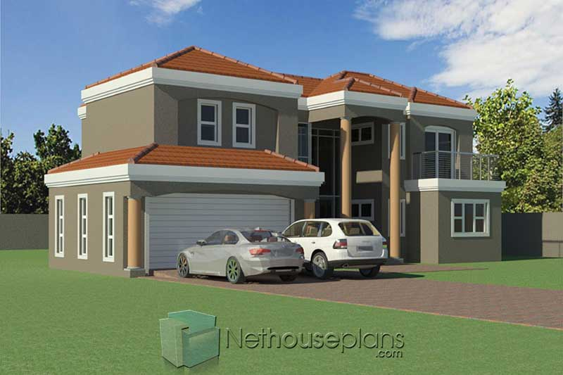 Tuscan double storey house plans 3D double storey house plans designs 3 bedroom double storey house plans with photos double storey Tuscan house designs Tuscan house plans South Africa Nethouseplans