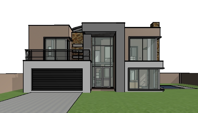 House Design Double Storey House Plan With Photos