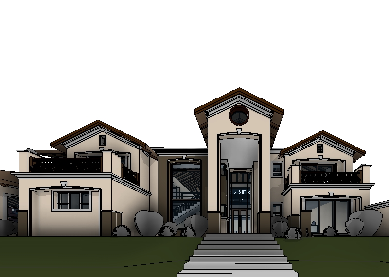 . Modern House Plan   South African House Designs