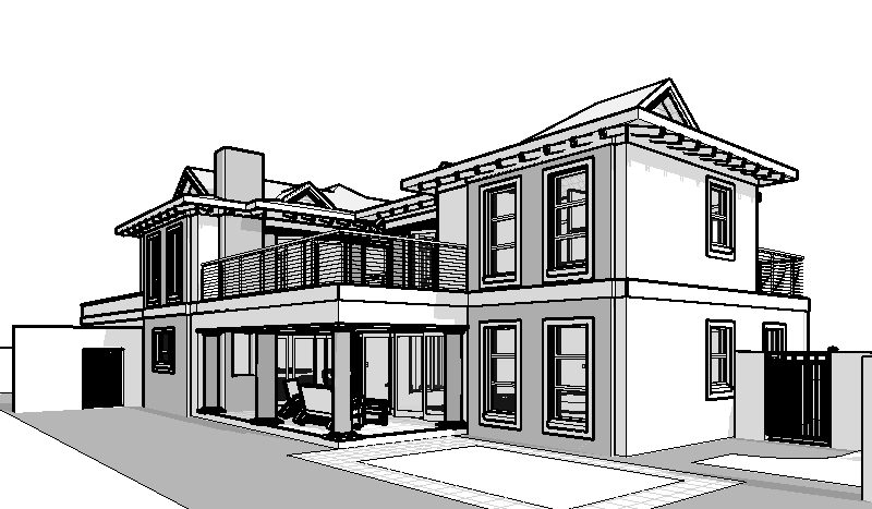 4 bedroom house design House plans south africa Bali Style House Plans southern living house plans 3D model 3D render house plan with balcony tiny house plan building plans Bali Style 4 bedroom house plans SA by Nethouseplans, Fourways, South Africa double story 3 bedroom house plans double storey 4 Bedroom house plans modern house plans blueprint ranch house plans