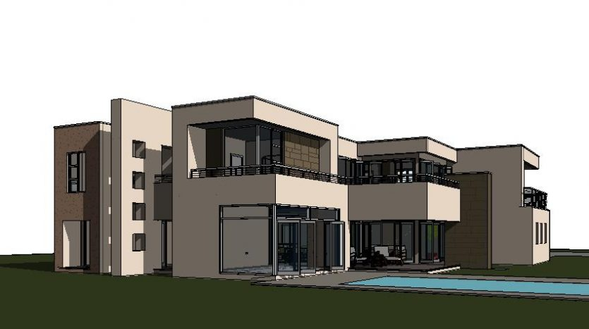 2 storey House Design Contemporary House Plans floorplanner luxury house designs architectural designs floor plans modern house design floorplanner 3D model view 3d render Double storey house plan C643D image by Nethouseplans design your own house plans with photos balconies swimming pool stone cladding aluminium folding doors double story 3 bedroom house plans double storey 4 Bedroom house plans modern house plans, two storey house plan; modern 4 bedroom house plan; 2 story house design, 4 garage double story house plan; contemporary home design; house floor plans; unique house plans south africa