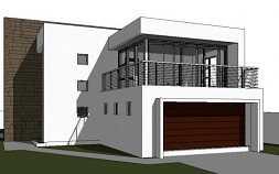 modern 2 storey house design, modern double storey house plan design, contemporary floor plan, modern house a with balcony, contemporary house plan in south africa, house plan with photos, Nethouseplans, Fourways