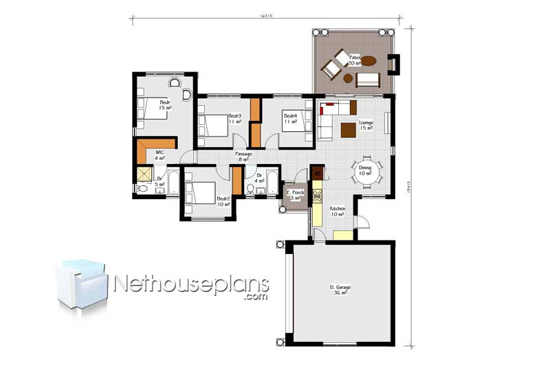 Four Bedroom House Plan Drawing 4 bedroom house design single storey South Africa Bungalow house plans 189sqm house plans south africa Tuscan house designs in South Africa double story 3 bedroom house plans double storey 4 Bedroom house plans modern house plans blueprint ranch house plans, house plans south africa, 3 bedroom house plans bungalow 4 bedroom house plan with garage single storey house plan blueprint floorplanner Nethouseplans