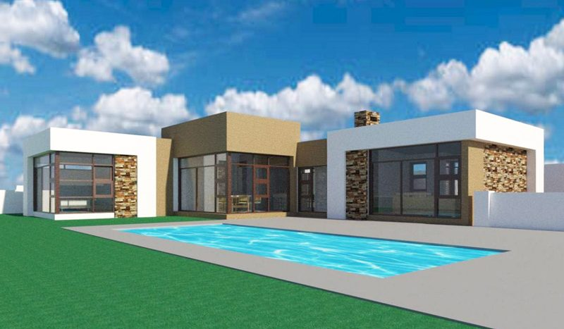 Small Modern House Design | 3 Bedroom Single Storey ...