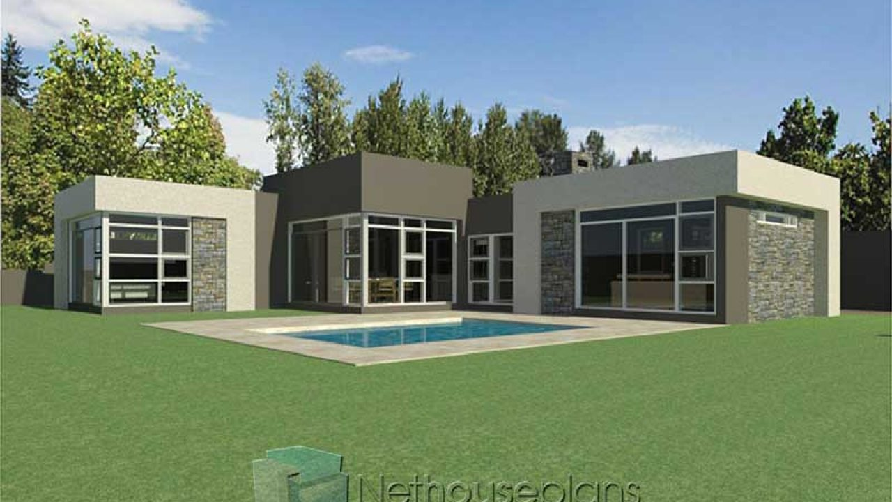 Modern 3 Bedroom House Plans South Africa Single Storey House Plans Nethouseplans