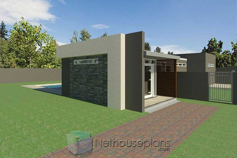 Small Modern House Design - Modern 3 Bedroom Single Storey ...