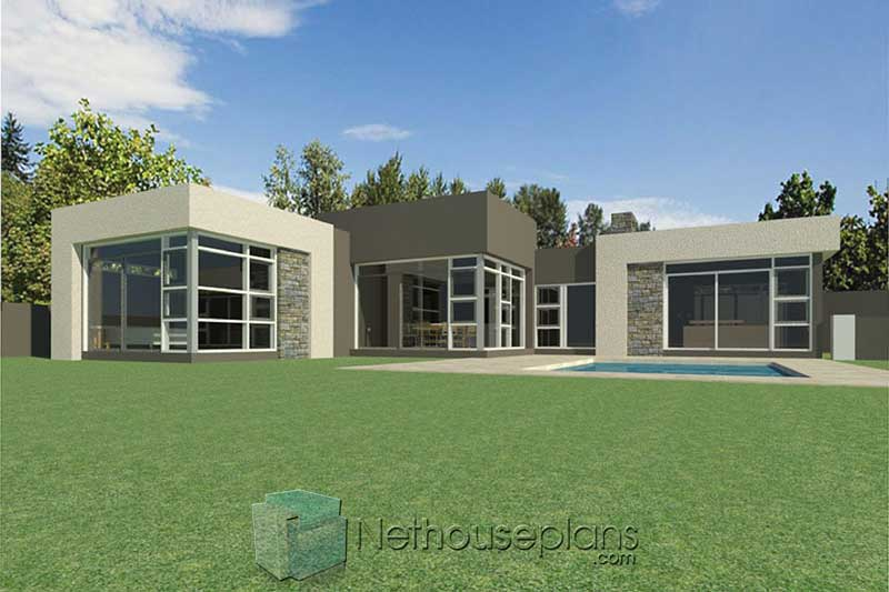 small modern house designs modern 3 bedroom house plans South Africa 3 bedroom modern house plans modern single storey 3 bedroom house plans pdf downloads single storey modern 3 bedroom house plans with garage modern house plans with photos Nethouseplans