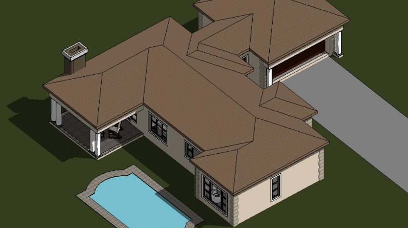 Four Bedroom House Plan Drawing 189sqm house plans south africa Nethouseplans Image of single storey house plan design in South Africa, Fourways, South Africa floorplanner ranch house plan building plans floor plan double story 3 bedroom house plans double storey 4 Bedroom house plans modern house plans blueprint ranch house plans