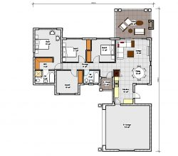Four Bedroom House Plan Drawing 189sqm house plans south africa Tuscan house designs in South Africa double story 3 bedroom house plans double storey 4 Bedroom house plans modern house plans blueprint ranch house plans, house plans south africa, 3 bedroom house plans, single storey house plan blueprint floorplanner