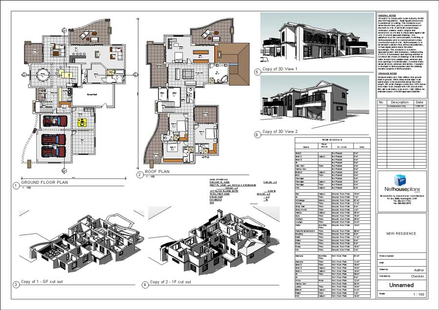 2 storey House Design, modern style house plan, house plans south africa, drawing house plans with photos, collection of house plans in south africa, Double volume open plan, home design, building plans, architectural designs small house plans with photos, design your own house, Nethouseplans