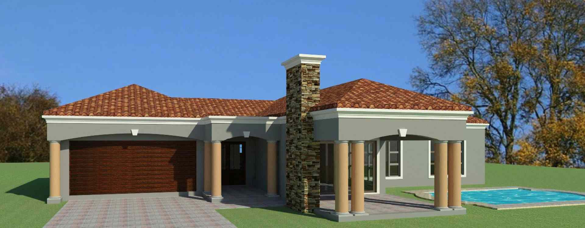 3 Bedroom House Plans South African House Designs