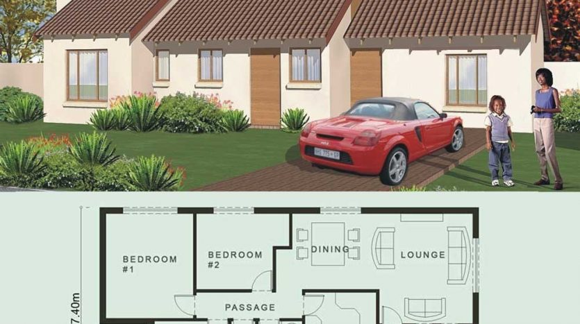 modern 3 bedroom house plans South Africa, 2 room house plans; 3 room house plans, 4 room house plans, 5 room house plans, small house plans, low cost house plans, House plans in Limpopo, Nethouseplans