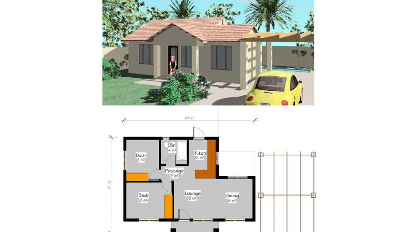 small house plans_Free house plans pdf doawnloads_tiny house plans_house floor plans_ Nethouseplans_LC55_