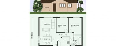 2 Room House Plans Low Cost 2 Bedroom House Plan Nethouseplansnethouseplans