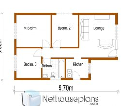 small cottage house plans, c. small house plans with pictures, simple house plans, 3 room house, 2 room house, 4 room house, Nethouseplans