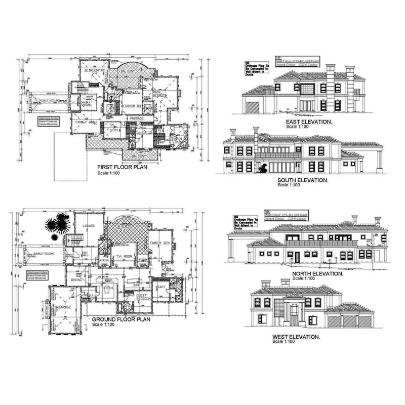 South African House Plans With Photos & Home Designs ...